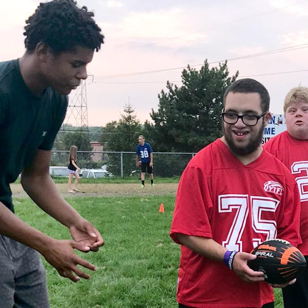 Special needs adaptive football program, No Limits, Belleville, Quinte
