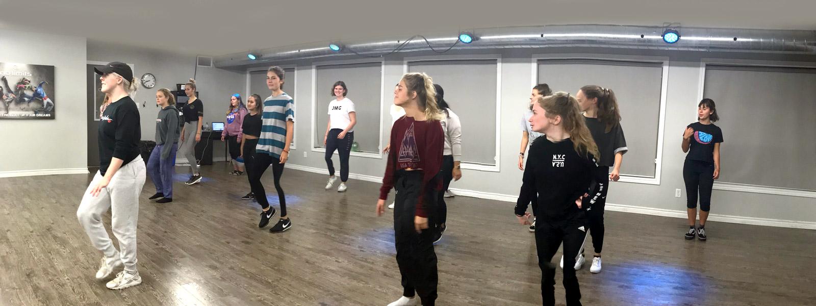 Dance program at No Limits Youth, Belleville, Quinte