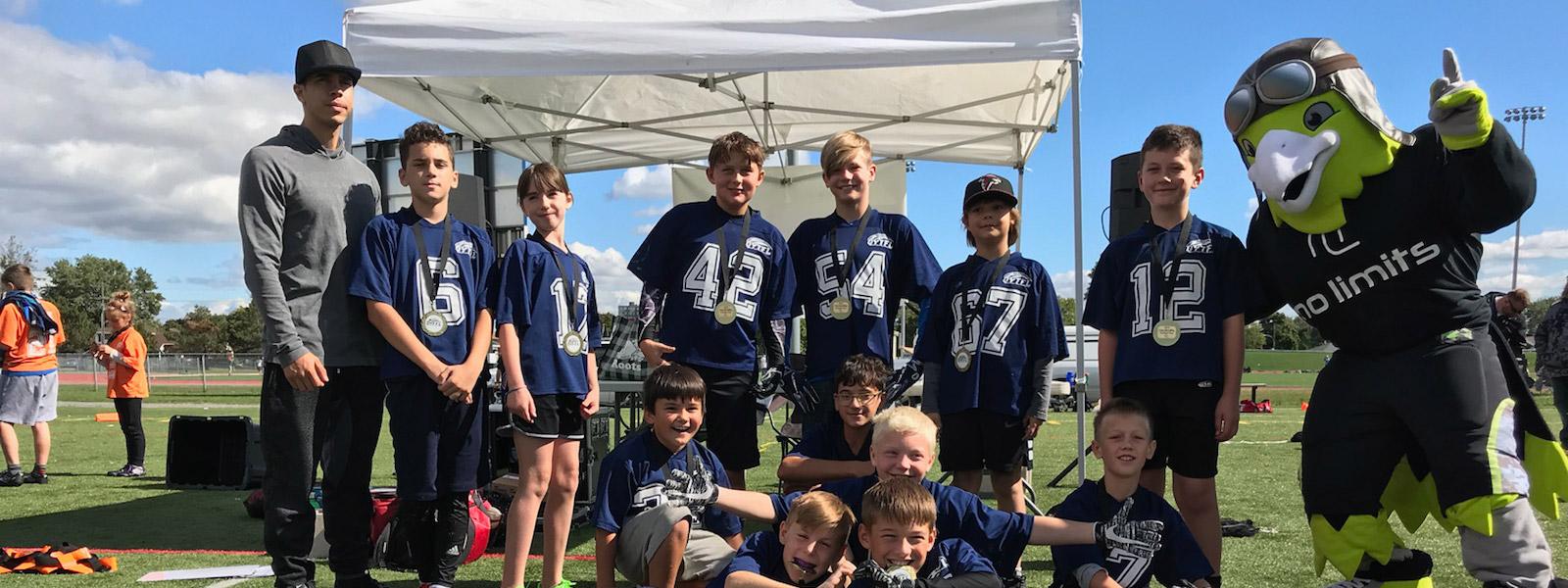 Skyhawks football program, No Limits, Belleville, Quinte